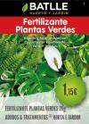 Fertilizante Plantas Verdes