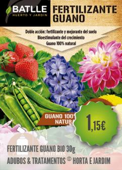 Fertilizante Guano Biológico