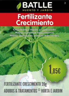Fertilizante Crescimento
