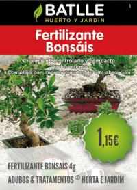 Fertilizante Bonsais