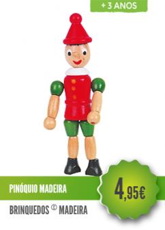 Pinóquio Madeira