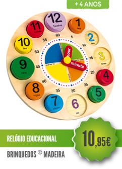 Relógio Educacional