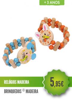 Relógios Madeira