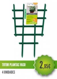 Tutor Plantas Vaso