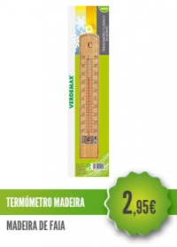 Termómetro Madeira